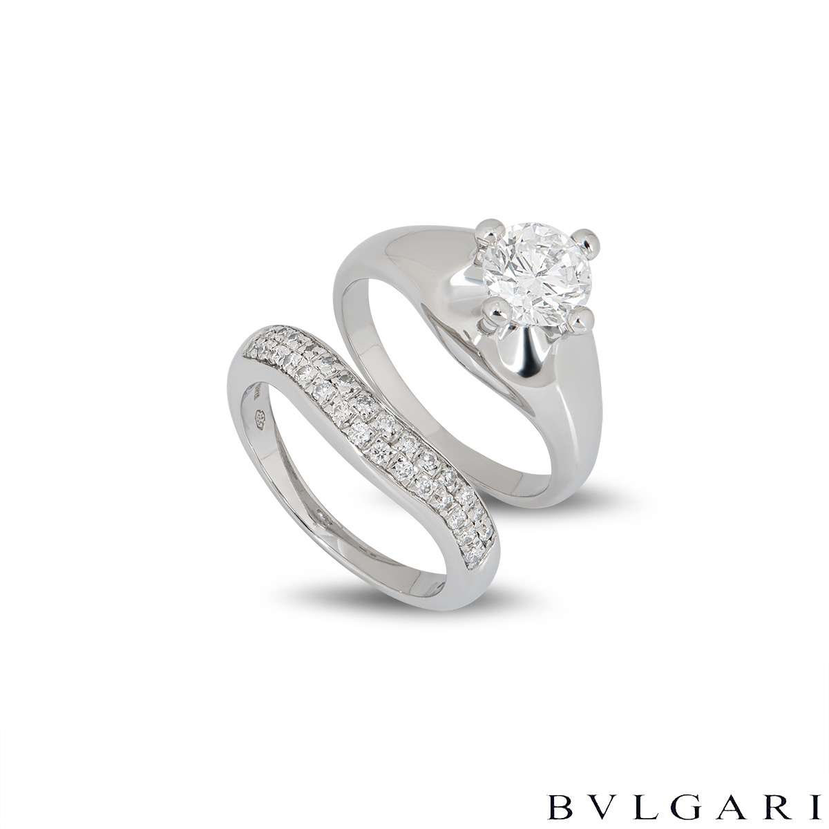 Bvlgari Corona Diamond Bridal Set